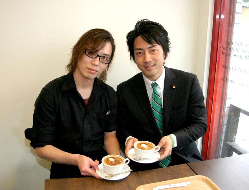 El artista de Cafe de Amelie (カフェ ド アメリ)