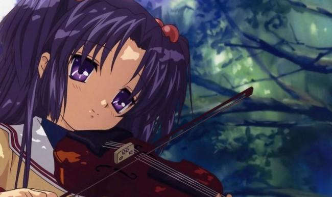 kotomi clannad violin