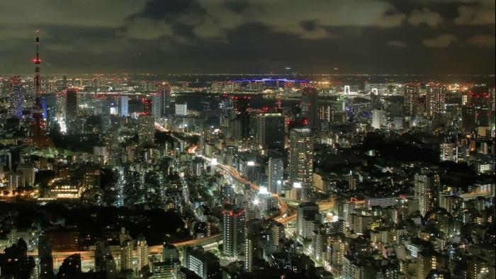 tokio ciudad de las luces