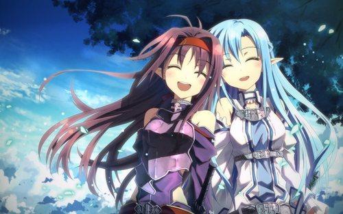Yuuki y Asuna