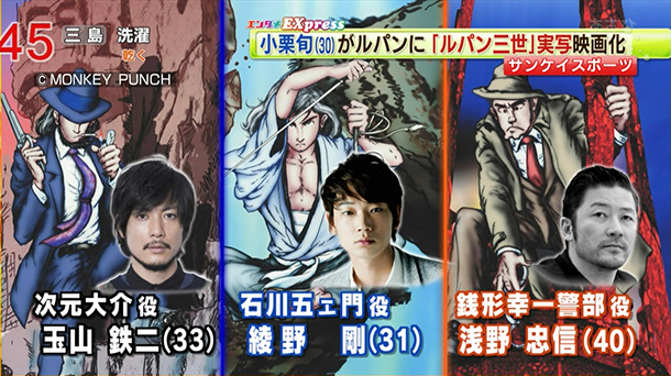 Lupin II Live-Action