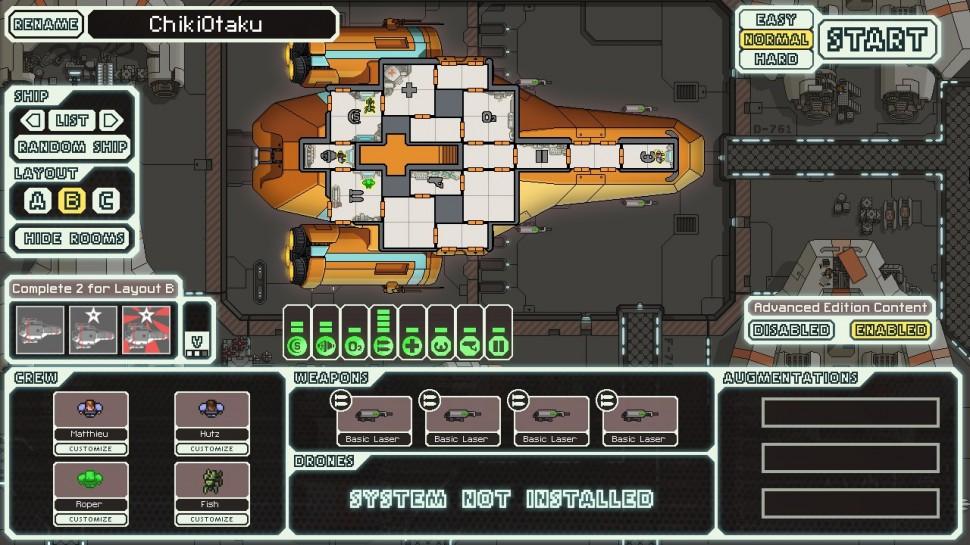 la I.S.S. ChikiOtaku al servicio de la Federación.