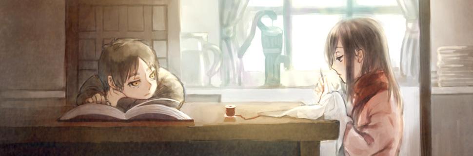 Shingeki no Kyojin Mikasa Eren